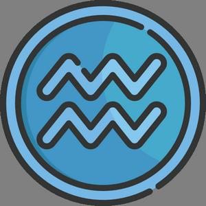 иконка знак водолея