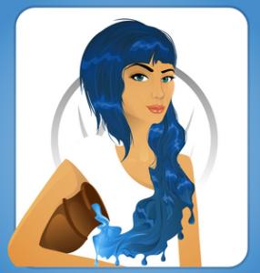 картинка женщина водолей